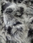 Preview: Echt Pelzdecke Silver Fox Point Silberfuchs